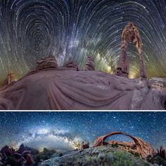 Some truly amazing photographs of star trails  planet panoramas!   #photography #amazing #startrails #longexposure
