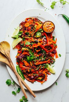 Noodle-Free Pad Thai! #vegan #minimalistbaker