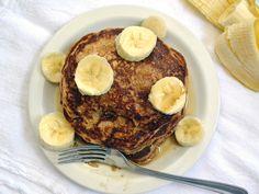 whole wheat oatmeal pancakes - Budget Bytes