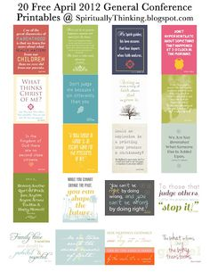"20 free faith-based printables for  home, office, or churches! Thanks to the blog  ""...And spiritually speaking"""