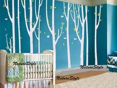 nursery tree wall decal Vinyl Wall Decal wall by NatureStyle, $115.00