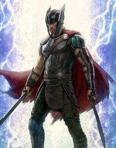 Thor: Ragnarok Concept Art (by Andy Park) - Marvel HQQ