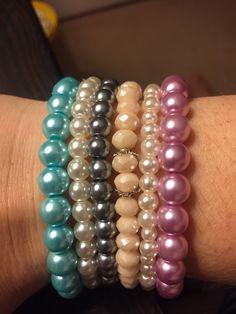 Elasticated bracelets