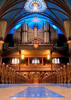 Notre-Dame Pipe Organ by ~shadeofmelon on deviantART