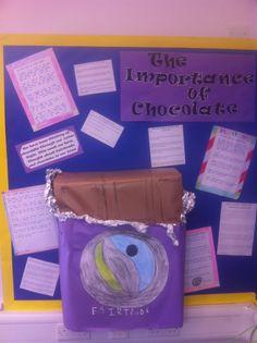 Part of Fairtrade week 2013, ks2 display