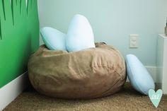 Woodland Playroom: Nest & Eggs-- Design Loves Detail
