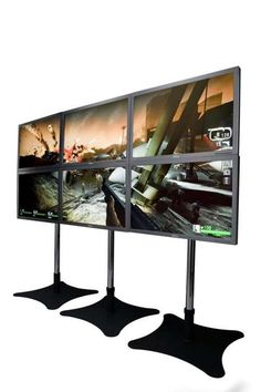AMD Eyefinity Graphics Card Can Run Up to Six Monitors at Once #mancave trendhunter.com