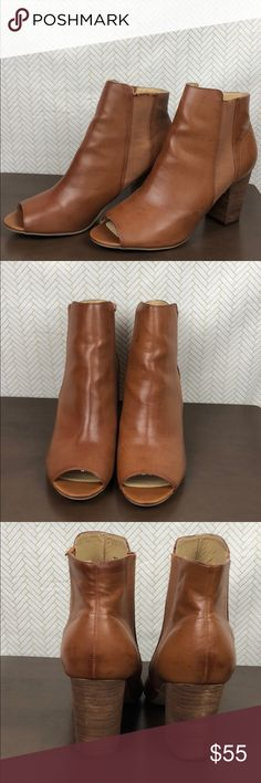 Chinese Laundry Open toe Leather Heeled Booties Chinese Laundry Open Toe Leather Heeled Booties Size 11 New without box  Same day or next day shipping  Thank you for checking out my closet!!! Offers and questions are always welcomed. Chinese Laundry Shoes Heeled Boots