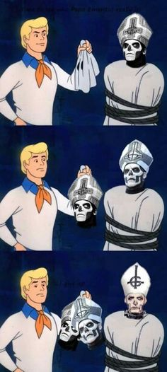 Scooby Doo - Ghost Reveal