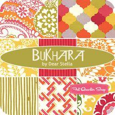 Bukhara Fat Quarter Bundle Dear Stella Fabrics - Fat Quarter Shop?.. that fabric top right is especially cool.