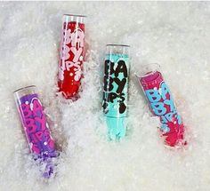 Baby Lips winter edition - Maybelline || Hot cocoa, Sweet apple, Mint candy, Sugar cookies.