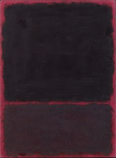 mark rothko(marcus rothkowitz, 1903–70), untitled, 1967. acrylic on paper, mounted on masonite, 1575.9 x 55.9 cm. metropolitan museum of art, new york, usa