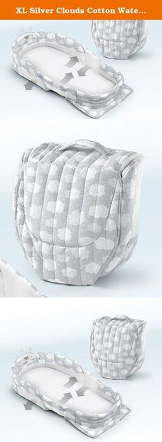 XL Silver Clouds Cotton Waterproof Foam Mattress Washable Snuggle Nest Surround Travel Bed, Dimensions 16Hx5Wx30.5L. XL Silver Clouds Cotton Waterproof Foam Mattress Washable Snuggle Nest Surround Travel Bed, Dimensions 16Hx5Wx30.5L Details: Pamper your baby with this awesome accessory. The New Snuggle Nest Surround XL is the latest model in Baby Delight's bestselling line of infant sleepers that provides a new extended length design for flexibility for co-sleeping or on-the-go. Two rigid...
