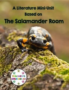 The Salamander Room by Ann Mazer This unit assists with understanding of habitats, amphibians, and salamander life cycles.  Use with standards L.2.2, SL.2.4,  SL.2.3,  SL.2.2, W.2.8, W.2.7, W.2.5, RI.2.6,  RI.2.2, RL.2.7, RL.2.6, and RL.2.5.