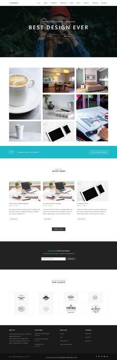 GLAMOUR is powerful multi page and one page #Drupal Theme for multipurpose #website with 60+ stunning homepage layouts. #Photography Download Now!