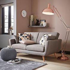 trendy home furniture couches lamps Stairs In Living Room, Living Room Chairs, Home Living Room, Living Room Designs, Living Room Decor, Sofa Design, Interior Design, Retro Floor Lamps, Therapy Office Decor