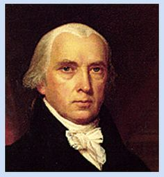 James Madison, 4th President of USA,  1809-1870, served two terms, Democratic-Republican Party, Secretary of State (1801-1809).