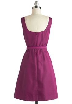 Either Orchid Dress, #ModCloth
