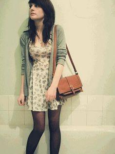 Topshop-Dress-Vintage-Cardi-Vintage-Bag