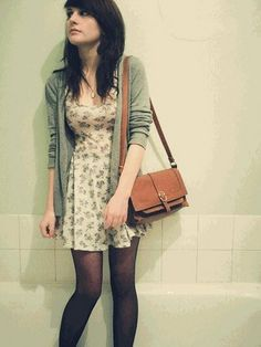 Topshop-Dress-Vintage-Cardi-Vintage-Bag
