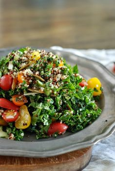 Farm Stand Kale and Quinoa Salad