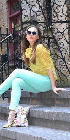 Vintage Printed Retro Sunglasses | Choies