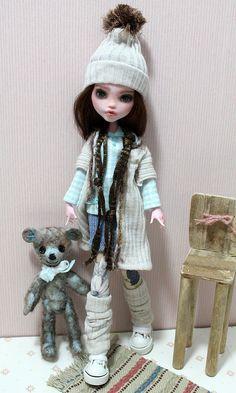 monster high custom by MoMo Doll, via Flickr