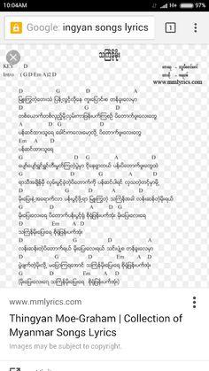 Myanmar Song Book Pdf