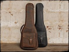 Leather Guitar Case, The Revelator | Anthology Gear Wear