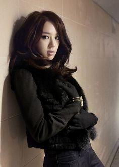 South Korean actress, singer, entertainer and model Yoon Eun Hye