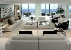 I love the oversized sofa! Artefacto