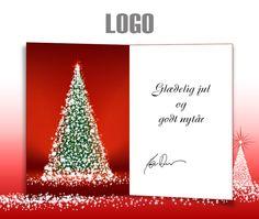 ekortet.dk leverer danmarks flotteste elektroniske julekort til virksomheder. På billedet: Julekort med logo. Juletræ.Ekort, e-kort, e-julekort, ejulekort, elektroniske julekort, ecard, e-card, firmajulekort, firma julekort, erhvervsjulekort, julekort til erhverv, julekort med logo, velgørenhedsjulekort, julekort