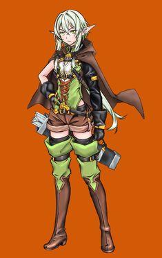 Goblin, Archer Characters, Manga Characters, Disney Marvel, Anime Elf, Warframe Art, Elfa, Samurai, By Any Means Necessary
