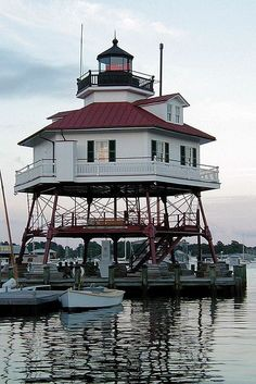 Drum Point Lighthouse, Maryland