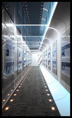 The Corridor by Ibenk