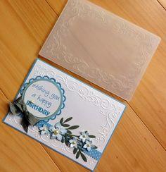 EMBOSSING FOLDER MPRESS Flowers Frame Border Birthday Wedding Celebration BNIP | eBay