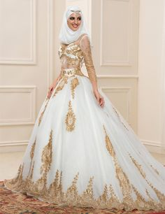 robe de mariée hijab - Google Search