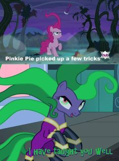 Pinkie Pie Is The Blue Mage of The Group