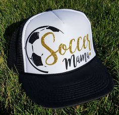 Soccer Mom/Mama Trucker Hat