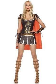Sexy Kostüm KRIEGERIN Fasching Karneval Gladiatorin 34-38: Amazon.de: Bekleidung