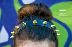 DIY: spike headband