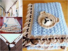 Tiramisu Baby Blanket - Free Pattern