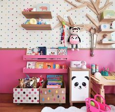 Boxes for girls room