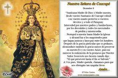 Rincón de la Oración: Estampa Oración Nuestra Señora de Caacupé