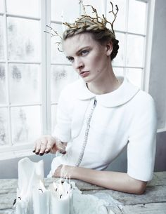 Juliane Gruner by Benjamin Vnuk for S/S/A/W Scandinavia Autumn/Winter 2014