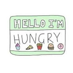 Hello I'm Hungry stickers featuring millions of original designs created by independent artists. White or transparent. Transparents Tumblr, Png Tumblr, Tumblr Stickers, Anime Stickers, Image Name, Aesthetic Stickers, To Infinity And Beyond, Peyton List, Laptop Stickers