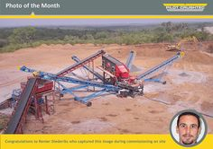 Photo of the month - Pilot Crushtec International Work Site, Pilot, The Unit, Stone, Image, Rock, Pilots, Rocks, Remote