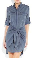 Etoile Isabel Marant Blue Qimi Cotton-chambray Shirt Dress $595