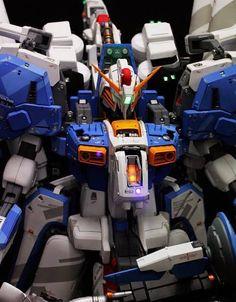 . Gunpla Custom, Mecha Anime, Custom Paint Jobs, Gundam Model, Mobile Suit, My Collection, Building, Badass, Design