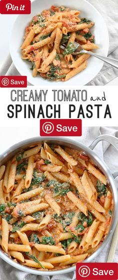 DIY Creamy Tomato and Spinach Pasta - Ingredients Vegetarian Produce 2/3 1 (15 oz.) can diced tomatoes 1 2 (9 oz.) bag fresh spinach $0.50 fresh 1 2 tsp dried basil $0.03 dried 1 2 tsp dried oregano $0.03 dried 2 Cloves garlic $0.16 1 Onion $0.25 small Canned Goods 1/8 2 tbsp tomato paste Pasta & Grains 1 2 lb. penne pasta $0.89 Baking & Spices 1 2 tsp salt $0.03 1/8 Pepper freshly cracked 1 pinch Red pepper flakes Oils & Vinegars 1 tbsp olive oil Dairy 2 oz. cream cheese 1 4 cup grated…
